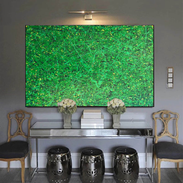 Office art | Abstract canvas painting | Contemporary oil paintings L740-11