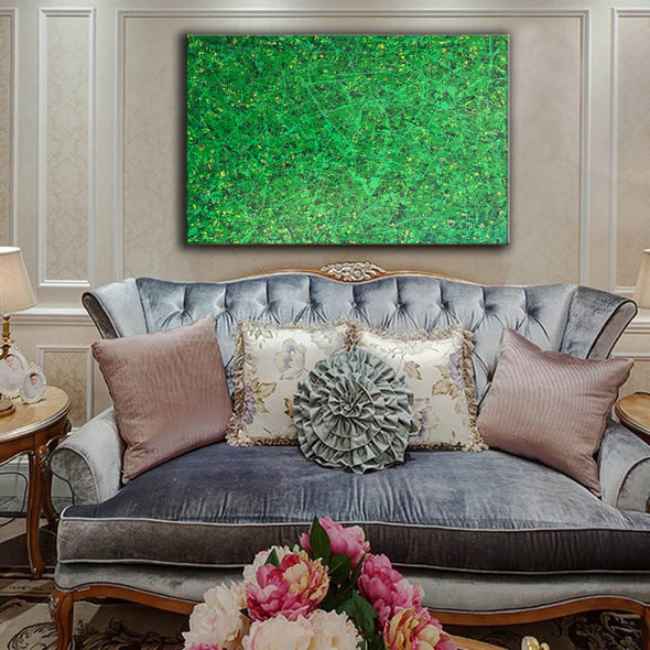 Office art | Abstract canvas painting | Contemporary oil paintings L740-4