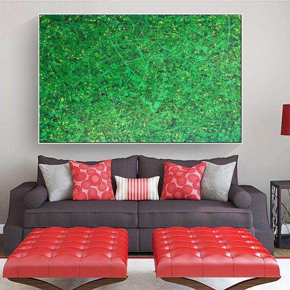 Office art | Abstract canvas painting | Contemporary oil paintings L740-6