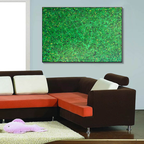 Office art | Abstract canvas painting | Contemporary oil paintings L740-8