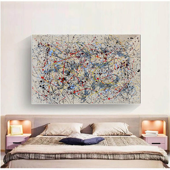 Abstract oil painting  | Abstract artists modern LA36_2