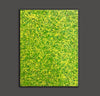 Yellow green abstract painting | Yellow and green abstract | Large Yellow painting L736-3