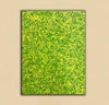 Yellow green abstract painting | Yellow and green abstract | Large Yellow painting L736-4