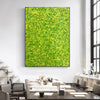 Yellow green abstract painting | Yellow and green abstract | Large Yellow painting L736-5