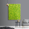 Yellow green abstract painting | Yellow and green abstract | Large Yellow painting L736-6