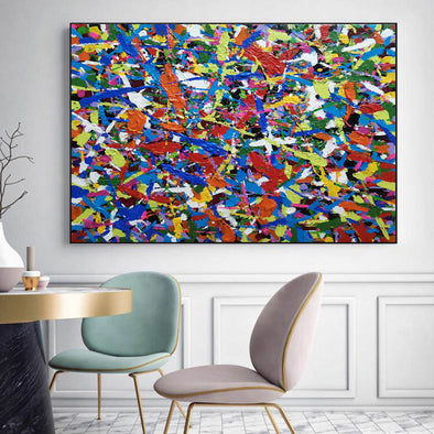 Abstract acrylic painting | Abstract oil painting LA58_1