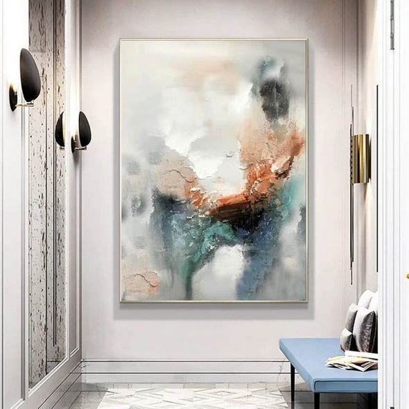 Abstract art modern paintings | Art modern abstract LA623_9