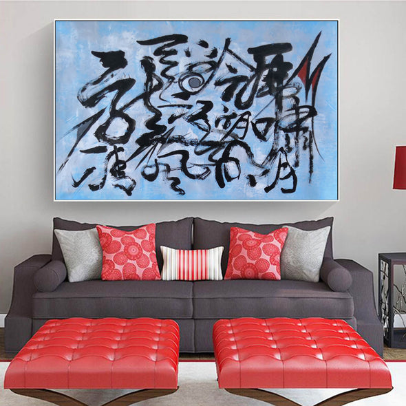 Abstract art oil on canvas | Latest abstract paintings LA241_9