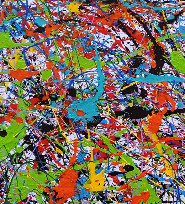 Abstract art oil paintings | Art painting modern LA248_10