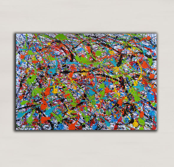 Abstract art oil paintings | Art painting modern LA248_8