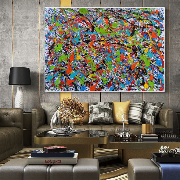 Abstract art oil paintings | Art painting modern LA248_1