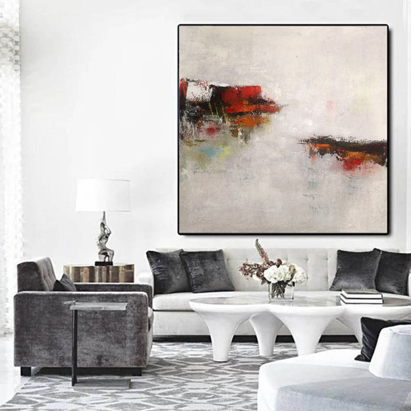 Abstract modern paintings on canvas | Abstract art oil paintings LA46_3