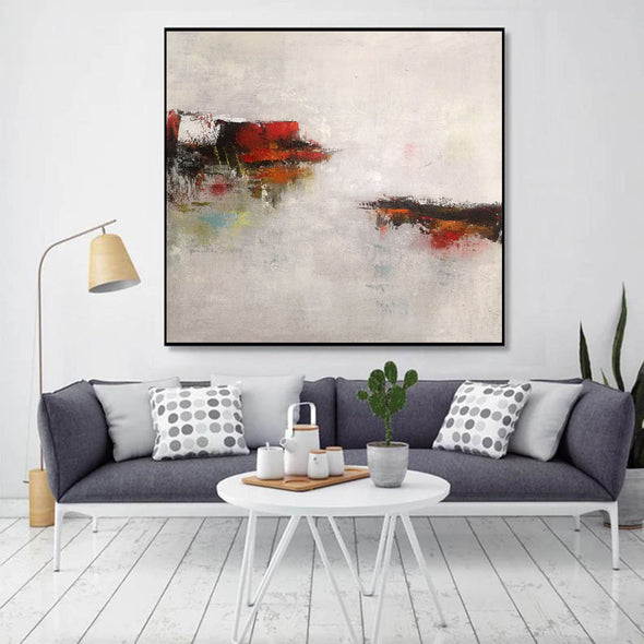 Abstract modern paintings on canvas | Abstract art oil paintings LA46_4