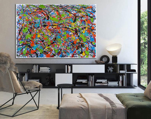 Abstract art oil paintings | Art painting modern LA248_3