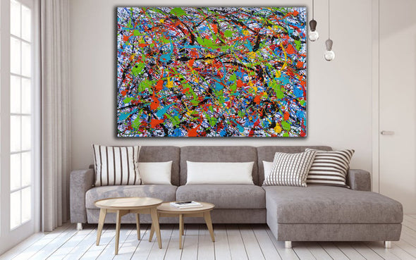 Abstract art oil paintings | Art painting modern LA248_4