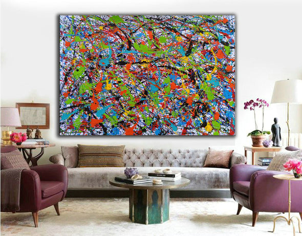 Abstract art oil paintings | Art painting modern LA248_5