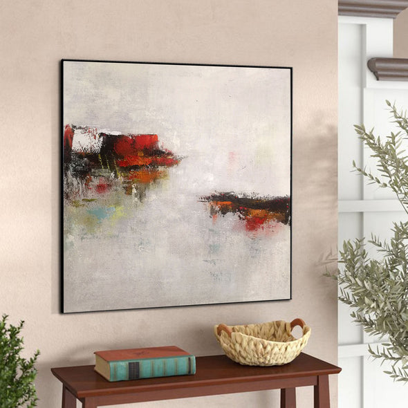 Abstract modern paintings on canvas | Abstract art oil paintings LA46_7