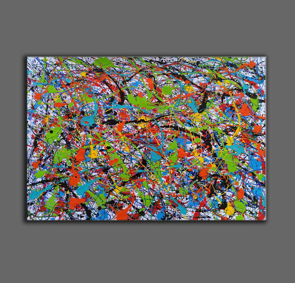Abstract art oil paintings | Art painting modern LA248_6