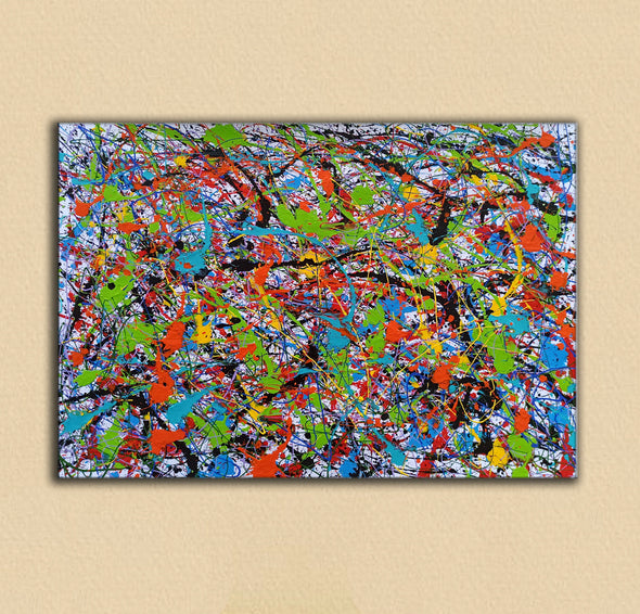 Abstract art oil paintings | Art painting modern LA248_7
