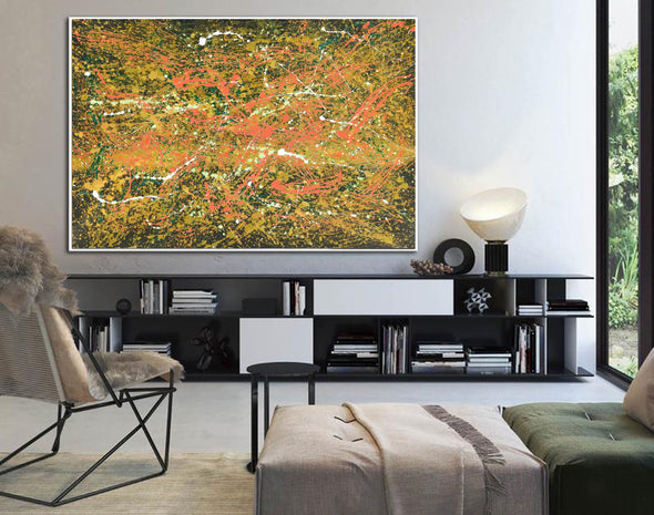 Abstract canvas oil painting | Abstract modern paintings on canvas LA247_6