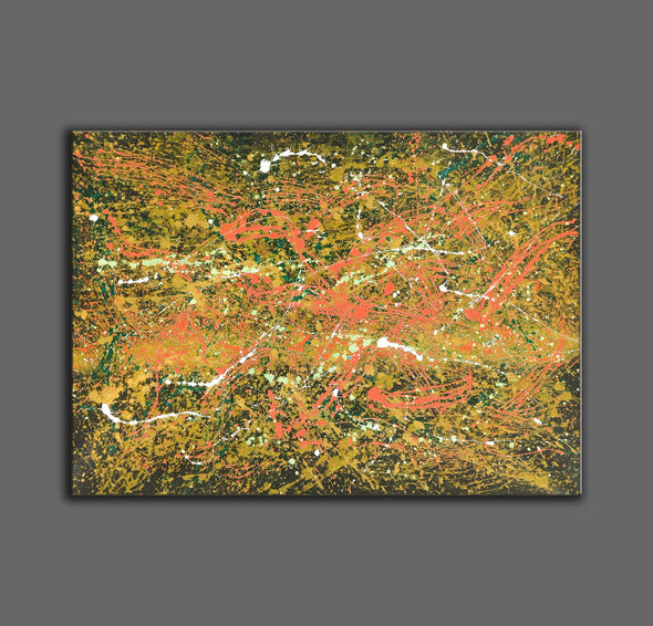 Abstract canvas oil painting | Abstract modern paintings on canvas LA247_7