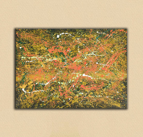 Abstract canvas oil painting | Abstract modern paintings on canvas LA247_8