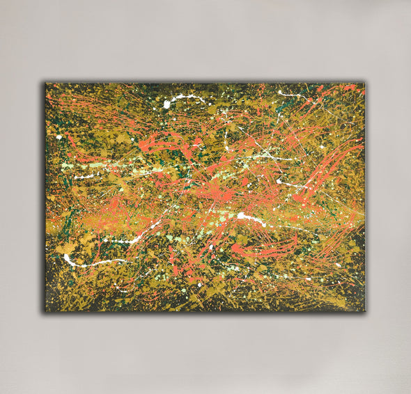 Abstract canvas oil painting | Abstract modern paintings on canvas LA247_9