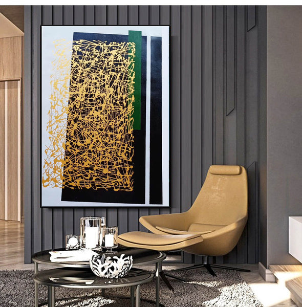 Abstract canvas painting | Abstract canvas LA151_1