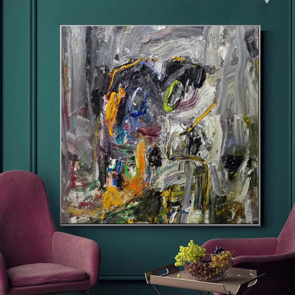 Abstract canvas painting | Abstract canvas LA194_2