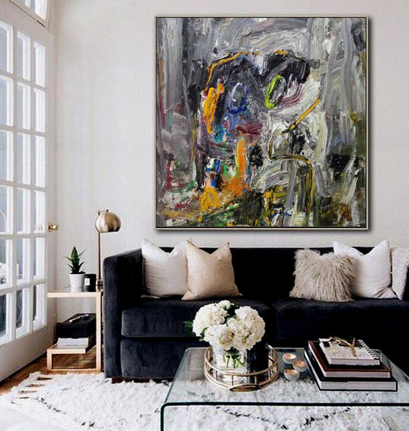Abstract canvas painting | Abstract canvas LA194_3