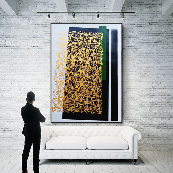 Abstract canvas painting | Abstract canvas LA151_3
