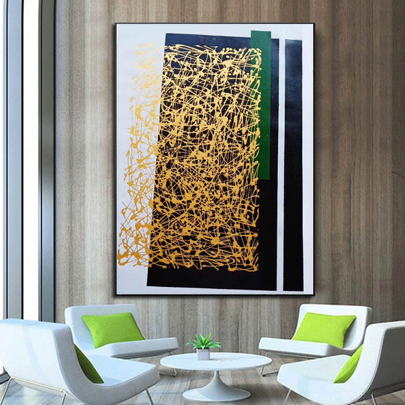 Abstract canvas painting | Abstract canvas LA151_4