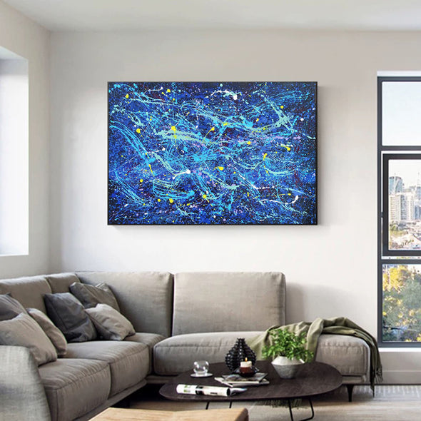 Abstract large painting | Abstract art and artists LA249_1
