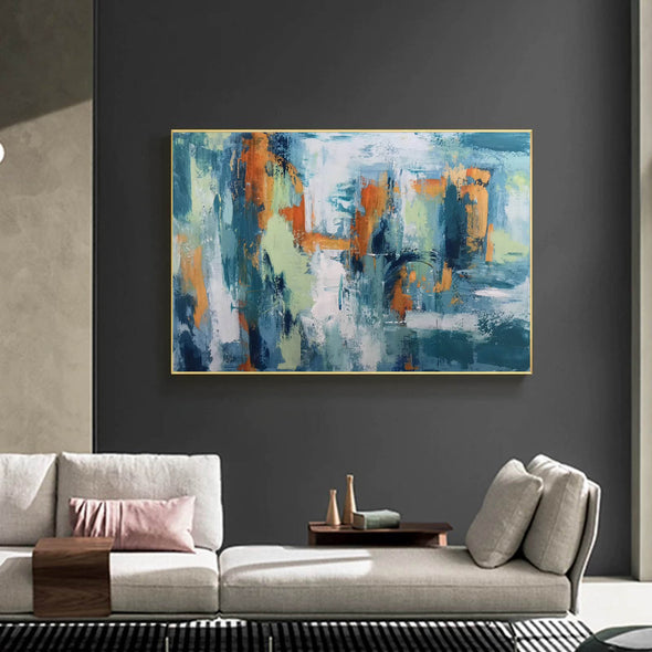 Abstract modern art paintings | Abstract painting LA89_5