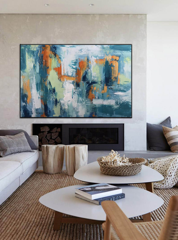 Abstract modern art paintings | Abstract painting LA89_7