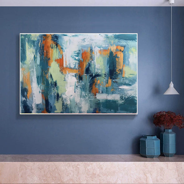Abstract modern art paintings | Abstract painting LA89_9
