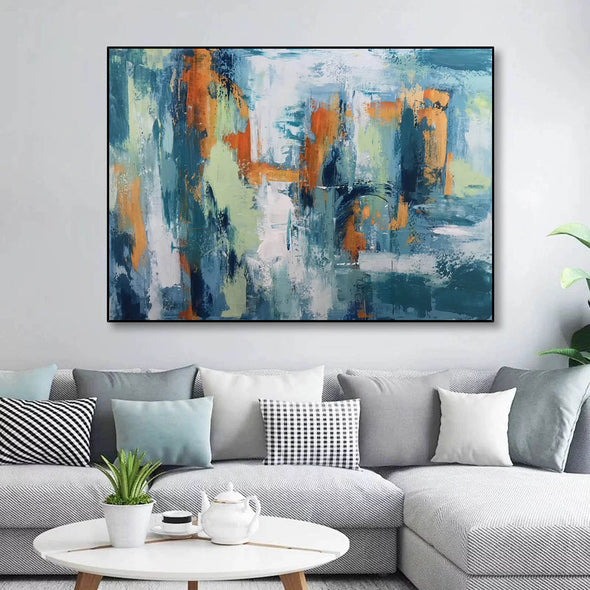 Abstract modern art paintings | Abstract painting LA89_1