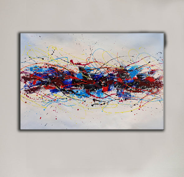 Abstract oil art paintings | Abstract modern art paintings LA265_8