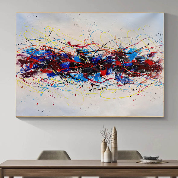 Abstract oil art paintings | Abstract modern art paintings LA265_2