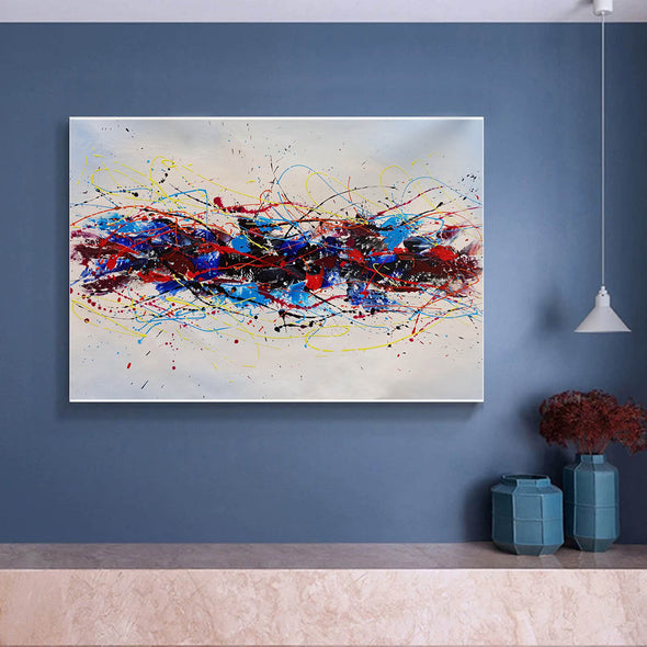 Abstract oil art paintings | Abstract modern art paintings LA265_5