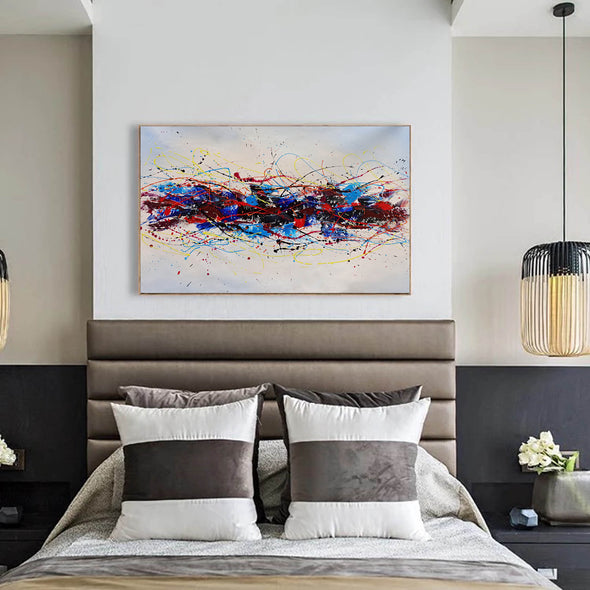 Abstract oil art paintings | Abstract modern art paintings LA265_6