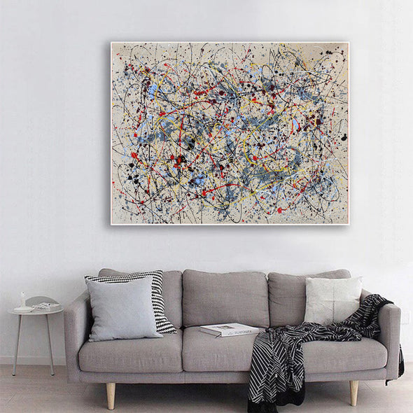 Abstract oil painting  | Abstract artists modern LA36_7