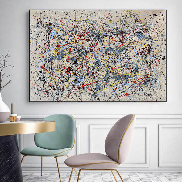 Abstract oil painting  | Abstract artists modern LA36_3