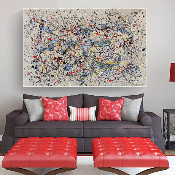 Abstract oil painting  | Abstract artists modern LA36_8