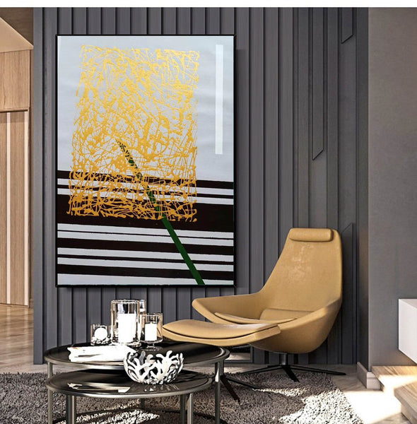 Abstract oil painting | Modern canvas art LA148_2