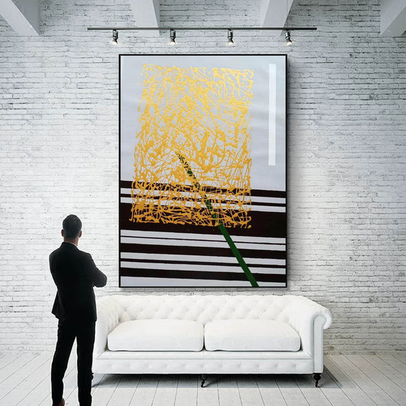 Abstract oil painting | Modern canvas art LA148_6