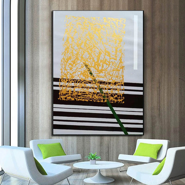 Abstract oil painting | Modern canvas art LA148_8