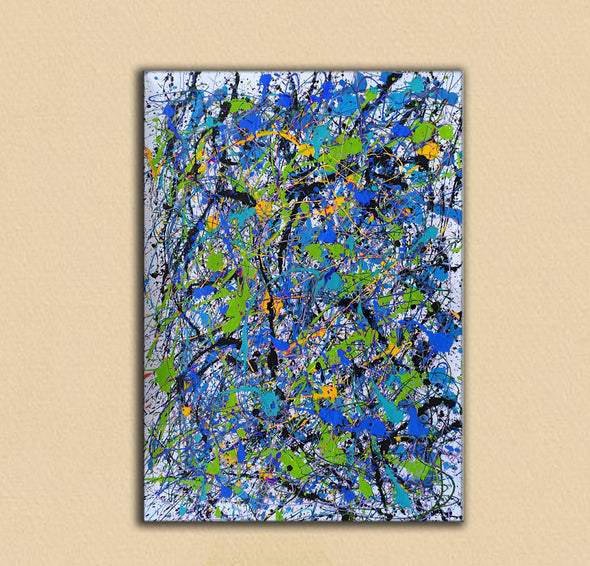 Abstract oil painting on canvas | Beautiful oil paintings LA103_4