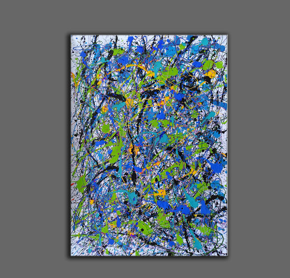 Abstract oil painting on canvas | Beautiful oil paintings LA103_5