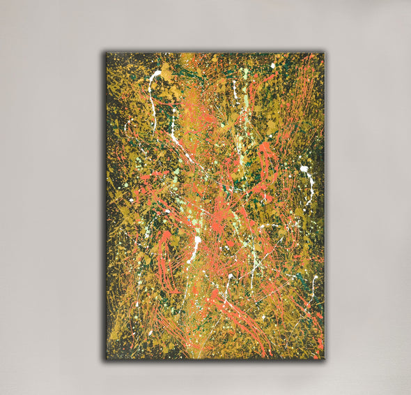 Abstract oil paintings | Abstract modern art paintings LA106_4